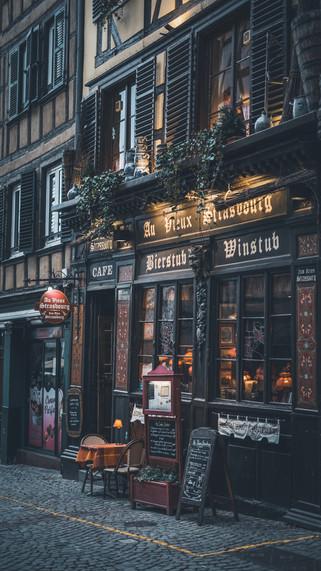 Winstub à Strasbourg