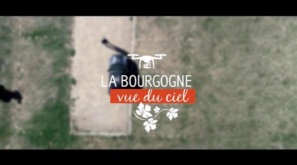 """Vidéo """"La bourgogne vue du ciel"""""""
