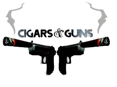 Cigars&Guns T-shirt of the Month Club