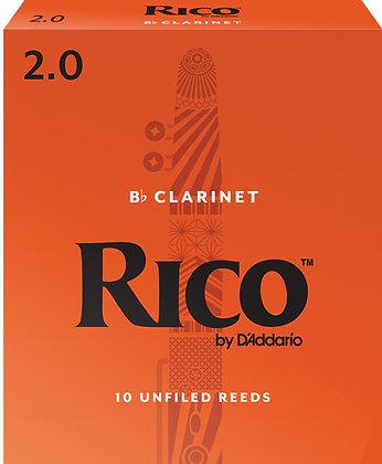 Rico Clarinet Reeds 10 box