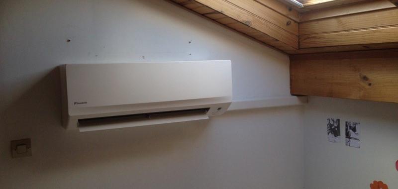 Climatisation - Unité intérieure installée