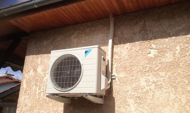 Unité extérieure de la climatisation
