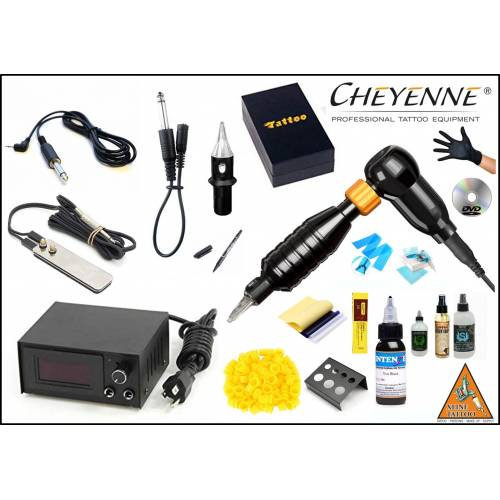 CHEYENNE HAWK THUNDER BLACK TATTOO DÖVME MAKİNESİ SETİ