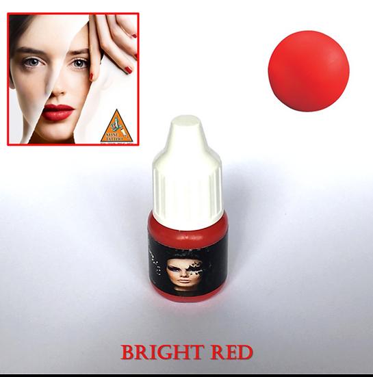 MICROBLADING VE KALICI MAKYAJ BOYASI - BRIGHT RED ( U.S.A )