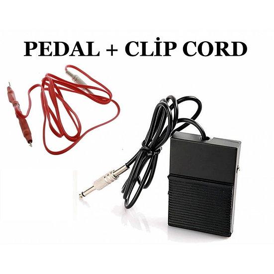 2 Lİ SET - PEDAL + CLIP CORD