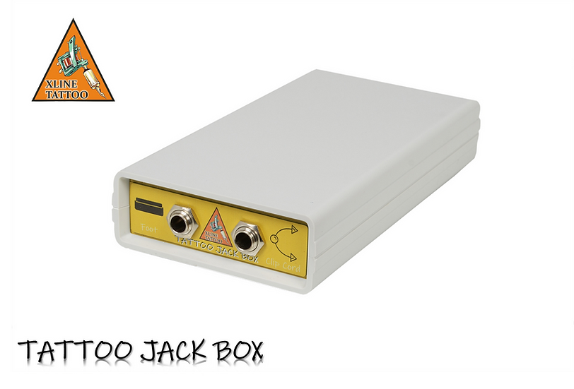 TATTOO JACK BOX - ADAPTÖR DEĞİLDİR - JAKSIZ ADAPTÖRÜNÜZÜ JAKLI HALE GETİRİR
