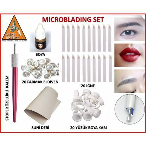 USA KALICI MAKYAJ Microblading Full Set - 6 PARÇA