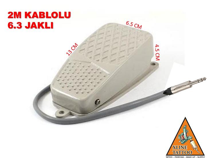 XLT-54 SERT PLASTİK TATTOO DÖVME MAKİNE PEDALI - KAYMAZ