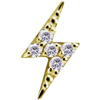 18K Gold Blitz Swarovski®