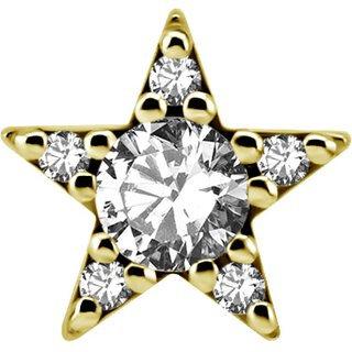 Gold Aufsatz 44LSwarovski®