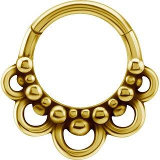 Gold Tribal Look Plain Clicker 27