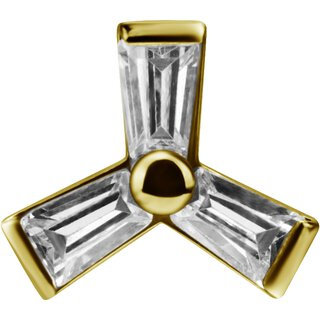 Gold Aufsatz 30Swarovski®