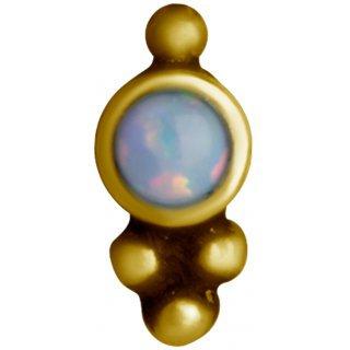 Gold Opal Aufsatz 25