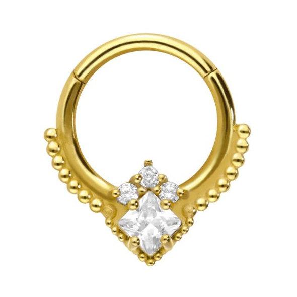 Gold OrientalClicker Swarovski®