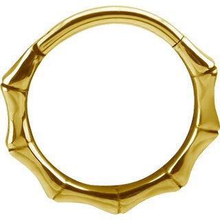 Gold Hinged Bamboo Clicker