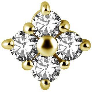 Gold Aufsatz 45LSwarovski®