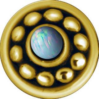 Gold Opal Aufsatz 27