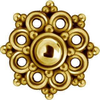 Gold Aufsatz 34L
