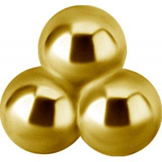 Gold Aufsatz 30