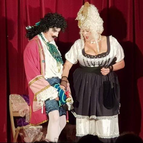 Ooh la la - Sir Juicybottom & Madame Chamberpot!