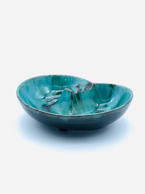 Vintage blue mountain pottery ashtray