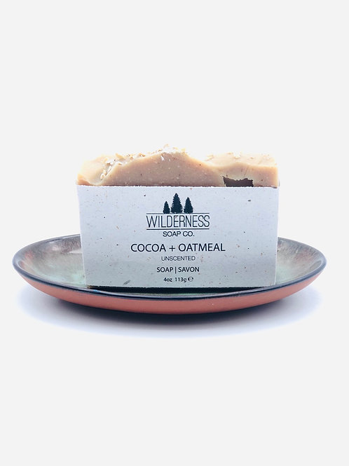 COCOA + OATMEAL SOAP BAR