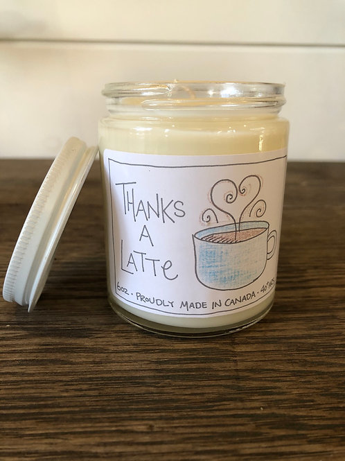 Thanks A Latte Pure Soy Candle