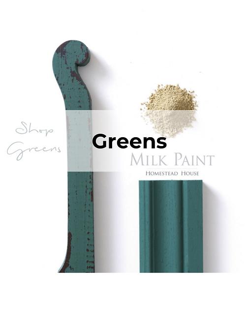 Shop Greens Milk Paint