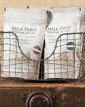 Fully stocked with MILK PAINT #homestead