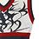"Thumbnail: ""RAZOR HEARTS"" Cropped Knit Vest"