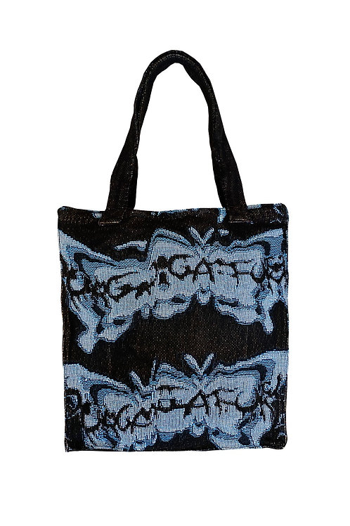 """""""BUTTERFLY EFFECT"""" Tote (Cobalt)"""