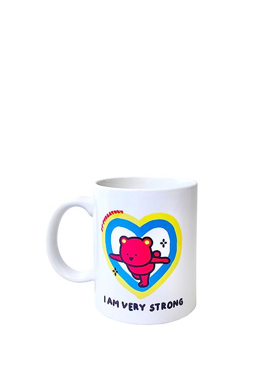 """I AM VERY STRONG"" Mug"