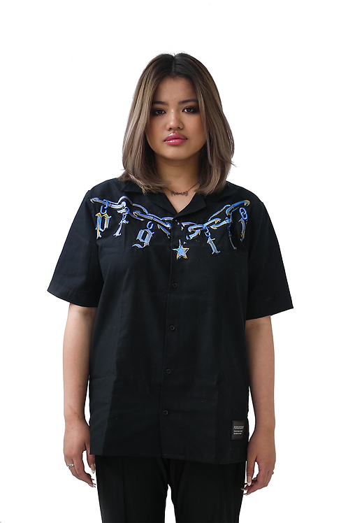 """PRGTRY"" Button Up Shirt"