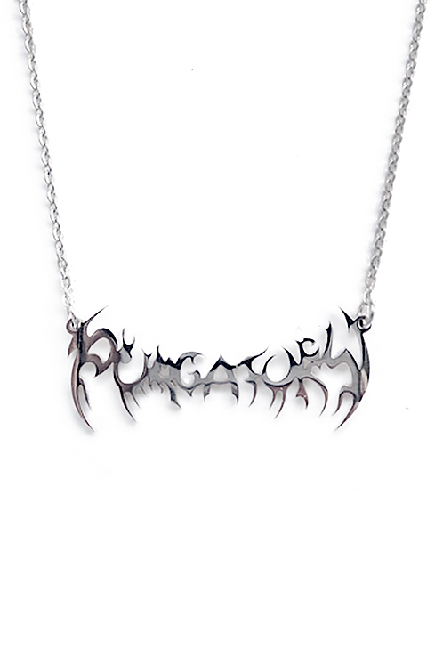 """PURGATORY"" Necklace (Silver)"