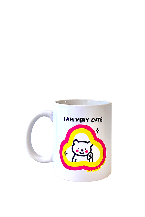 """I AM VERY CUTE"" Mug"