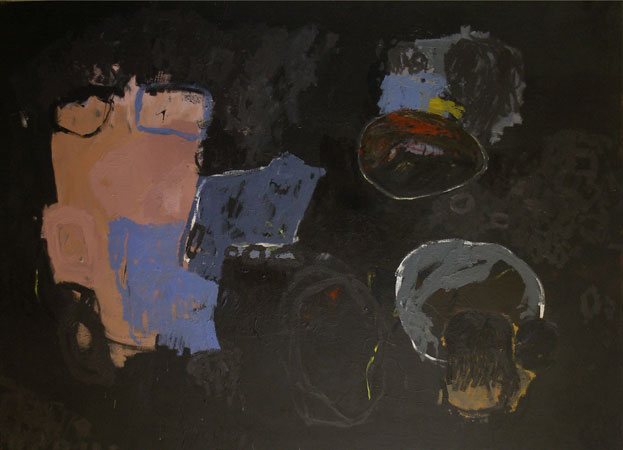 Black Paintings 2007