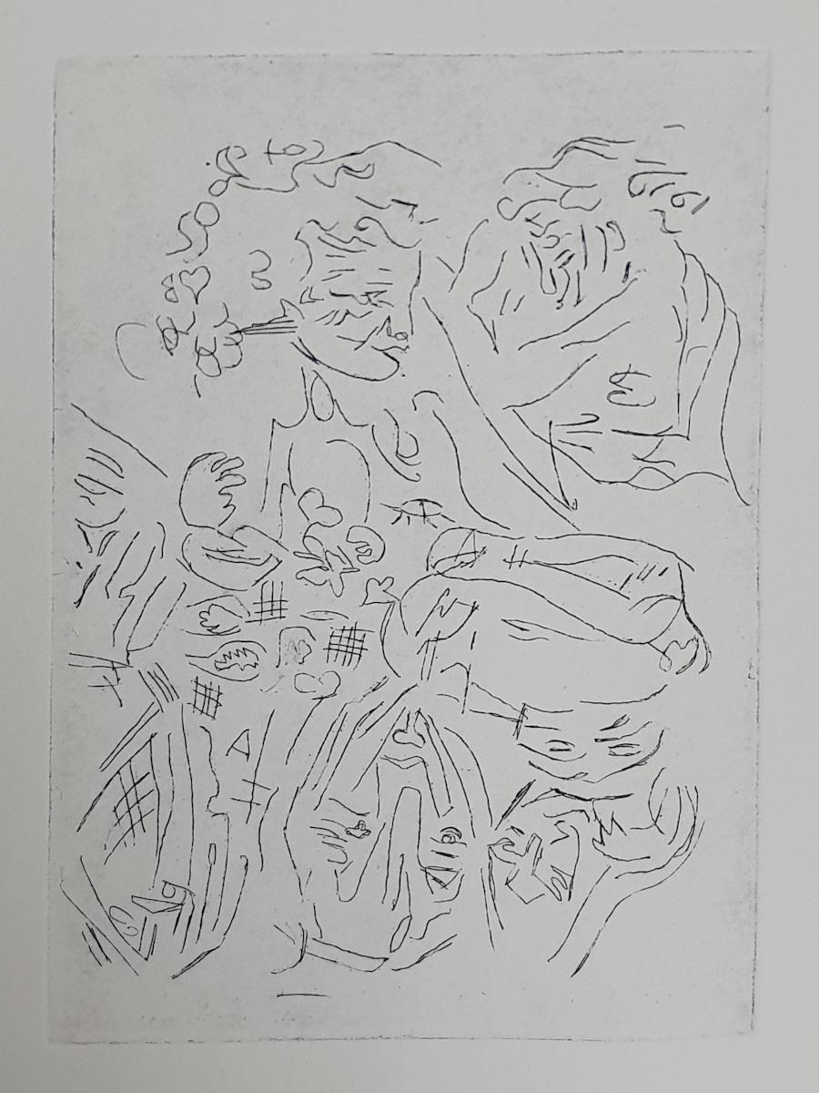 Suite de Voleur - etching