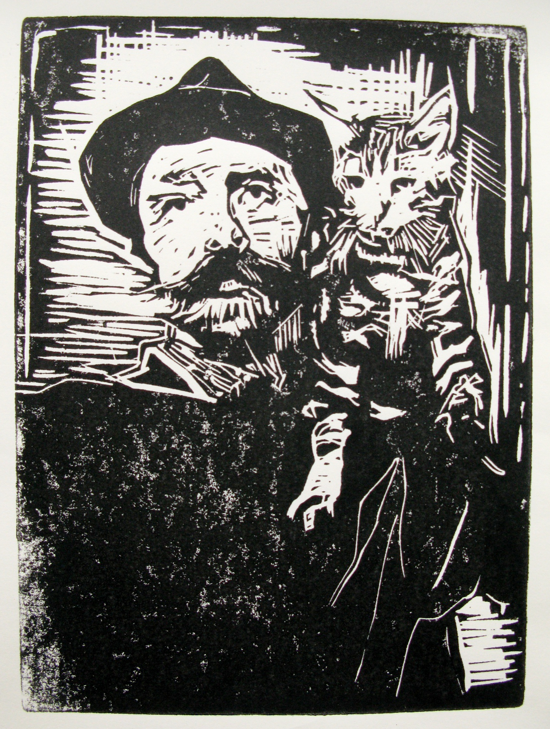 Billy Childish & Cat