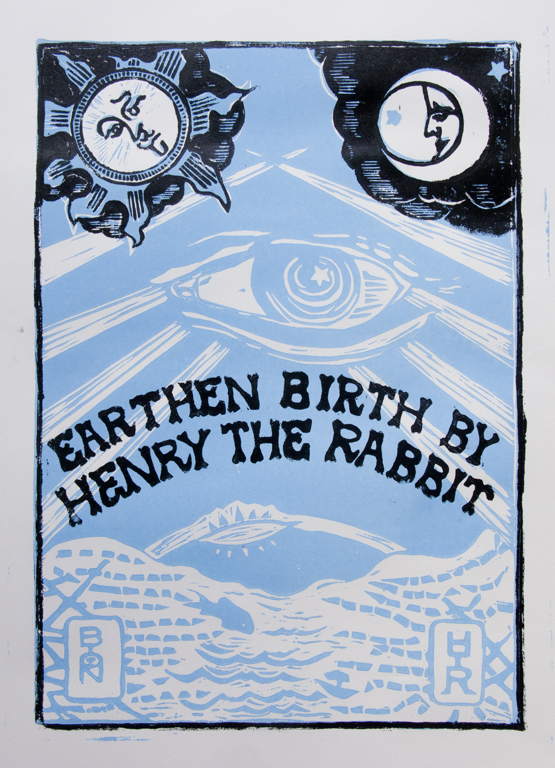 Earthen Birth By Henry the Rabbit