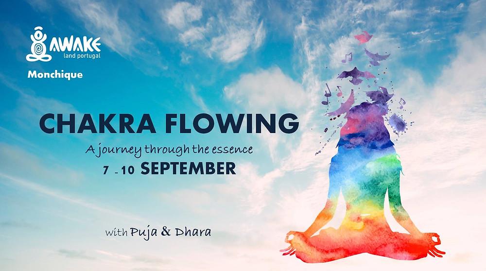 Retiro Chakra Flowing