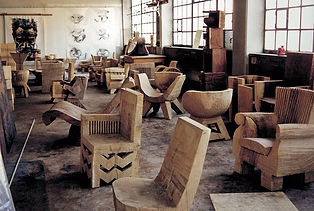 Devon Pavlovits, Devon Pavlovtz, Natanel Gluska,chairs, wood chair, carved wood chair