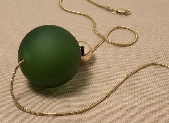 Glass Bubble Necklace