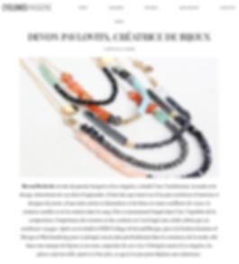 Devon Pavlovits, Devon Pavlovitz, Cyclones Magazine, Frenc Magazine, bijoux, jewelry designer, jewelry, creatrice de bijoux, france, los angeles, Pavlotis