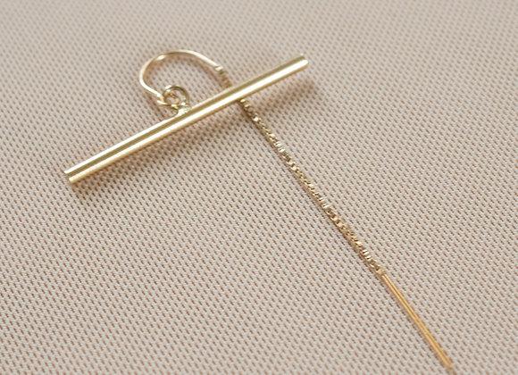Lumi Bar Threader Earring
