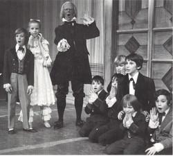 1972 Nutcracker Clara and boys