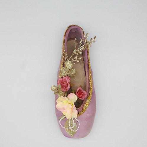 "Customized Ballet Shoe Art ""Dew Drop"""
