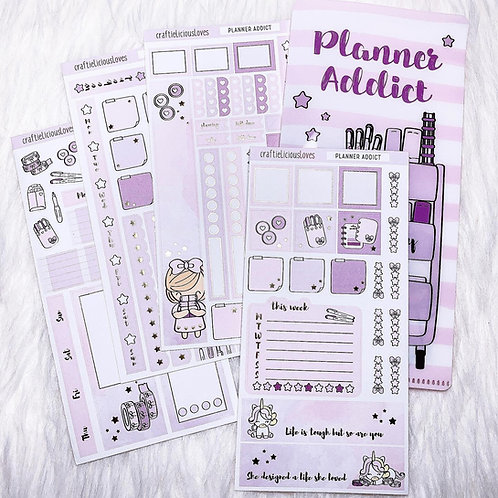 Planner Addict Daisy Hobonichi Kit