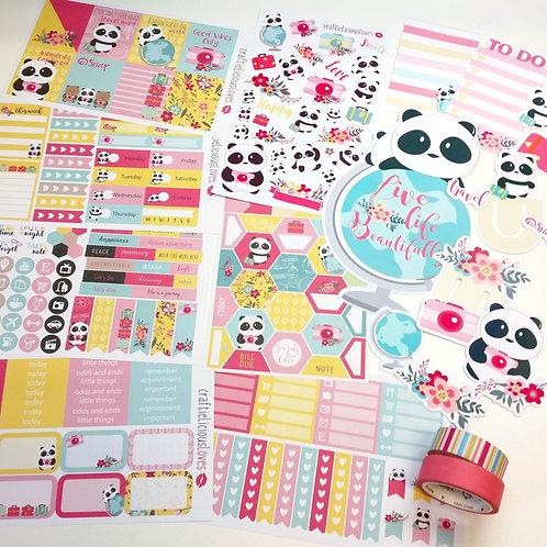 March subscription kit (Bao Bao Panda)
