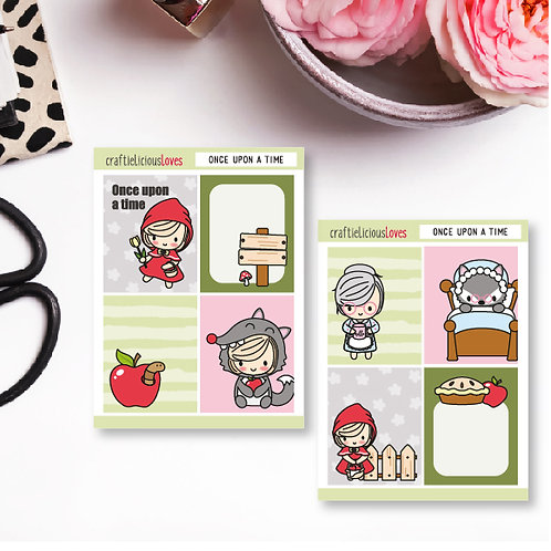 Once Upon a Time Daisy Sticker Kit