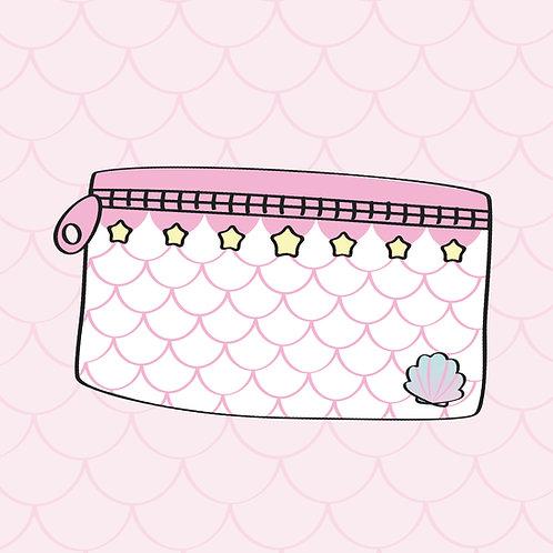 Daisy Mermaid pouch